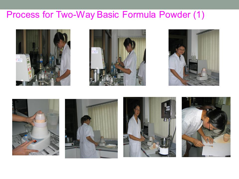 Process for Two-Way Basic Formula Powder (1)