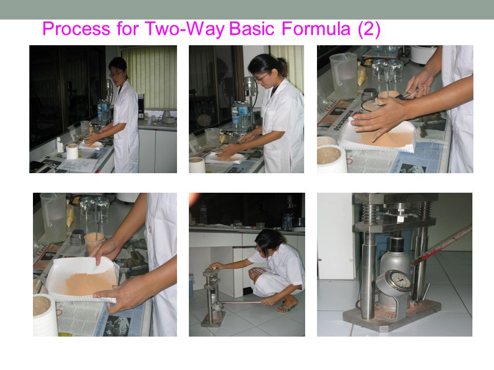 Process for Two-Way Basic Formula (2)