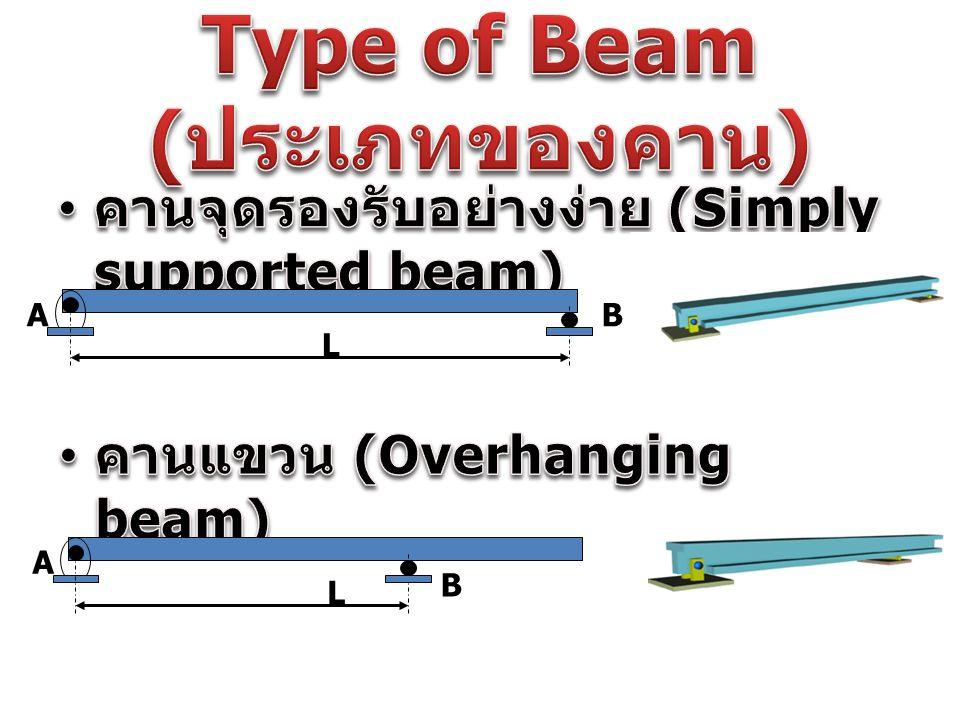Type of Beam (ประเภทของคาน)