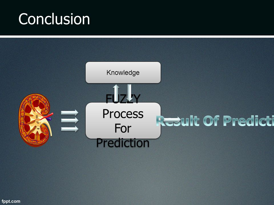 Conclusion Knowledge FUZZY Process For Prediction Result Of Prediction