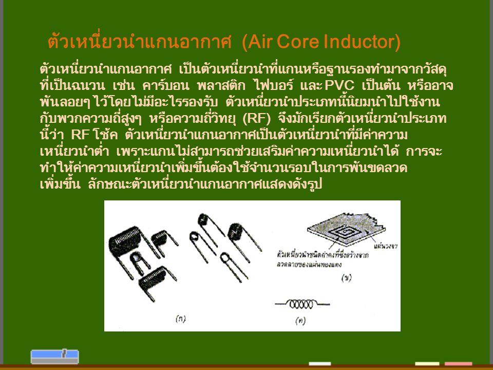 ตัวเหนี่ยวนำแกนอากาศ (Air Core Inductor)
