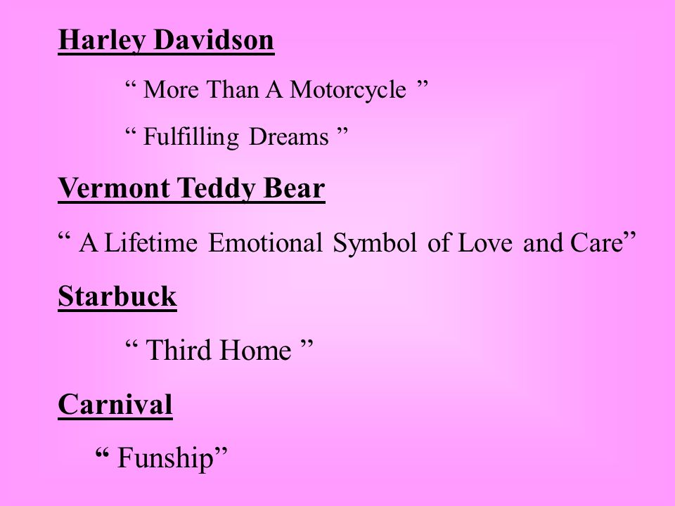A Lifetime Emotional Symbol of Love and Care Starbuck