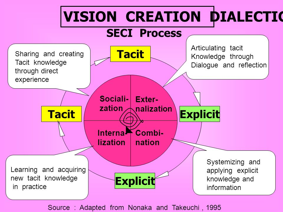 VISION CREATION DIALECTICS