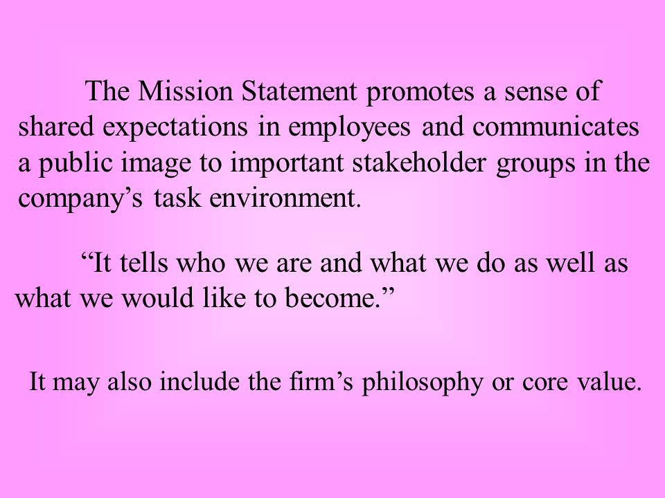 shared expectations in employees and communicates