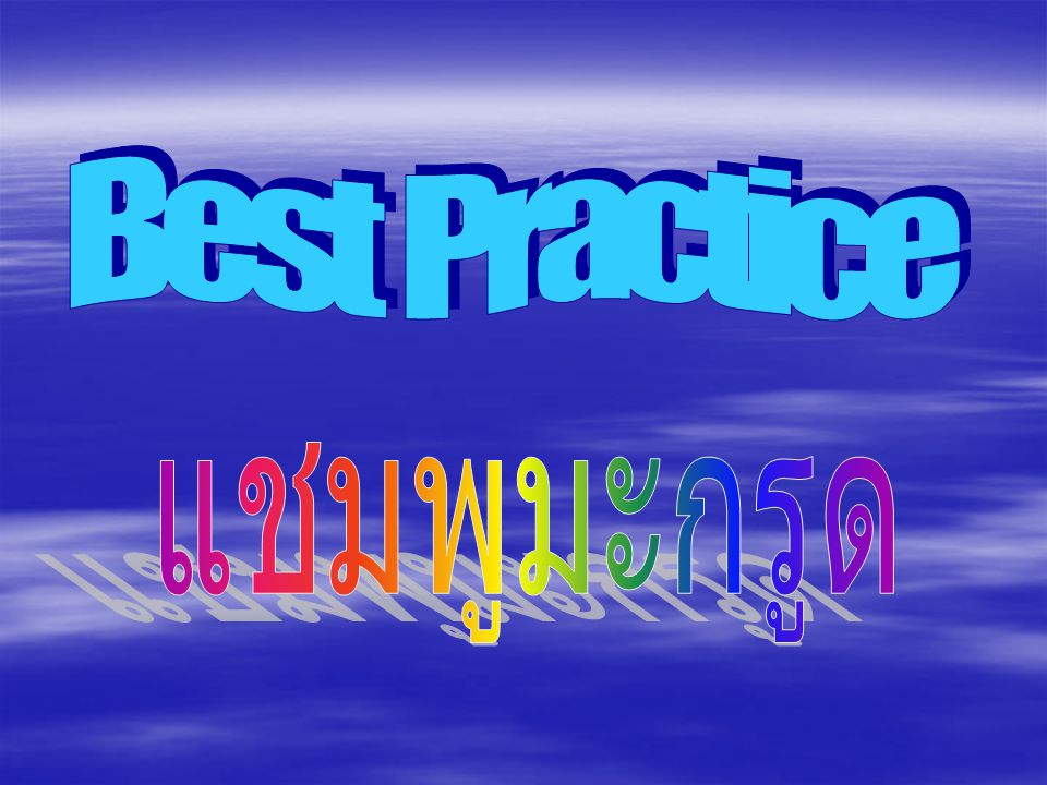 Best Practice แชมพูมะกรูด