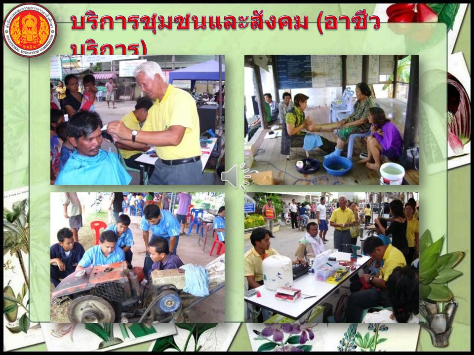 บริการชุมชนและสังคม (อาชีวบริการ)