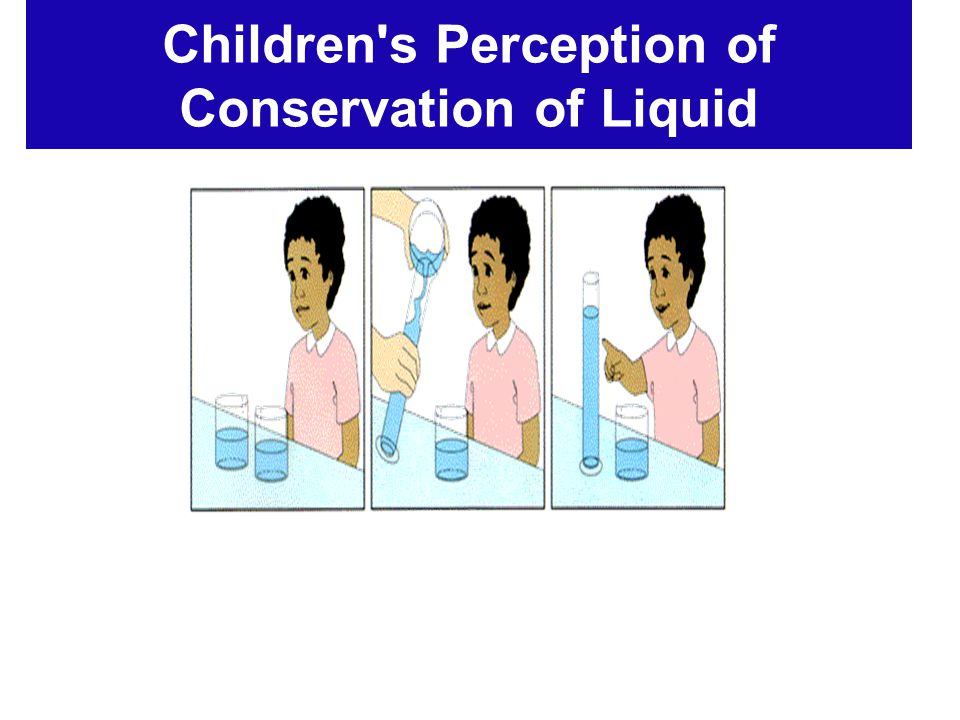 Children s Perception of Conservation of Liquid
