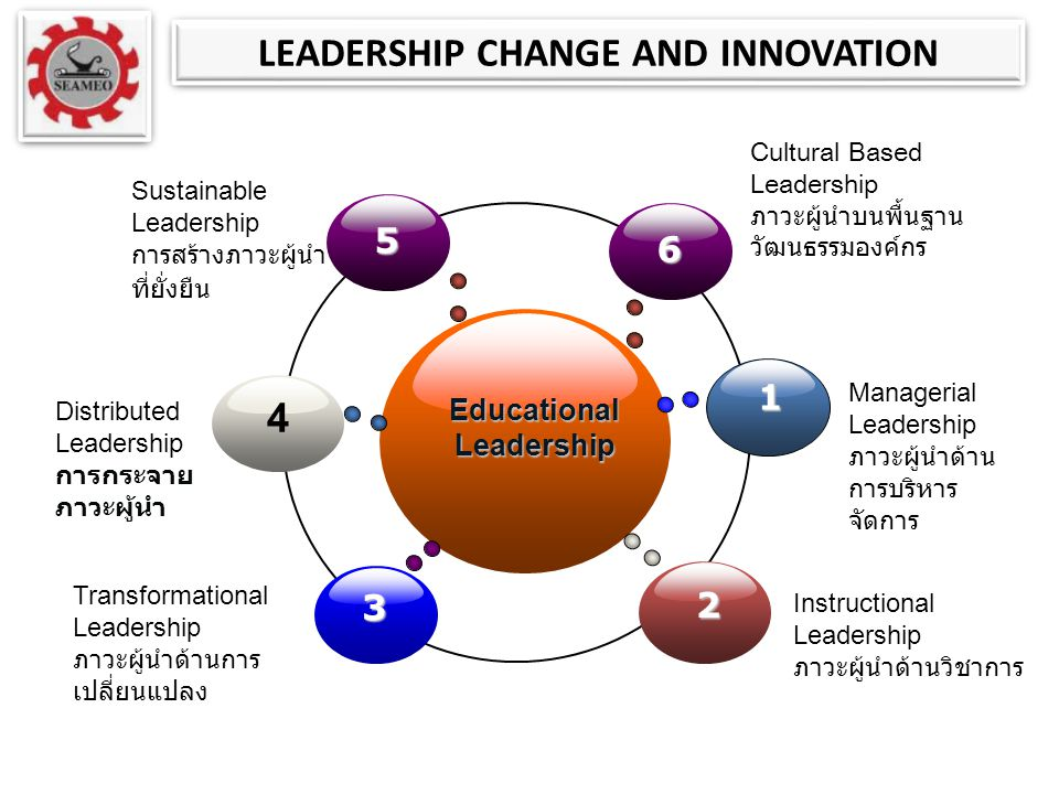 LEADERSHIP CHANGE AND INNOVATION