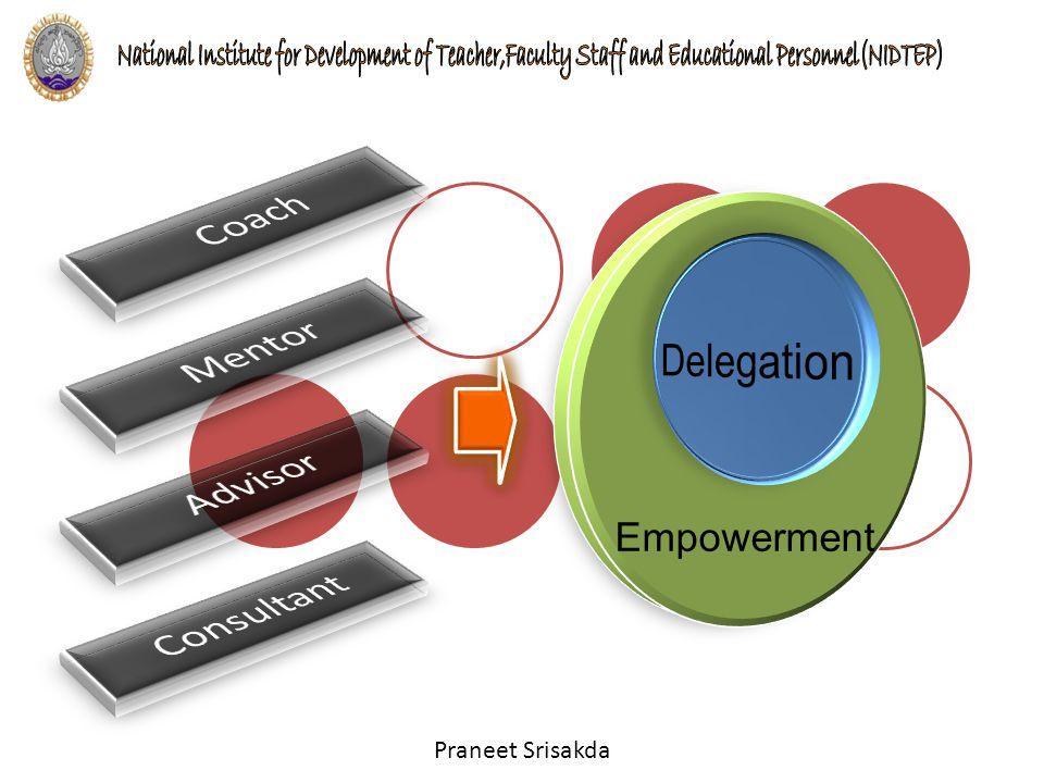 Coach Delegation Mentor Advisor Empowerment Consultant