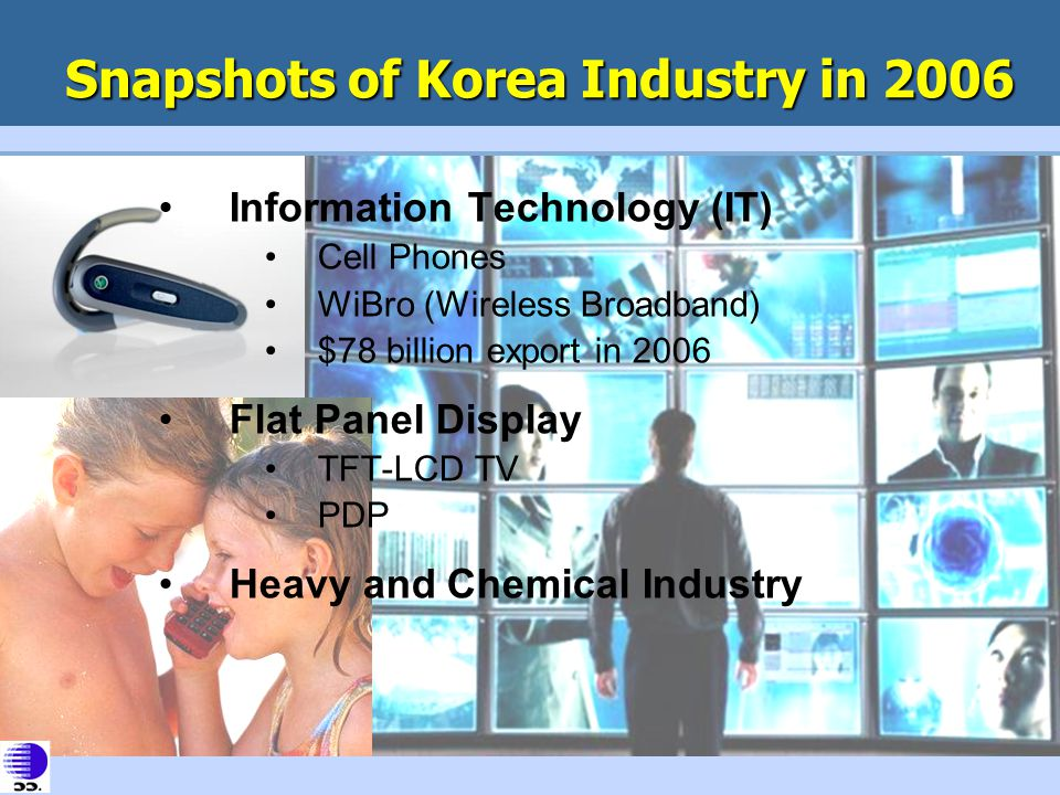 Snapshots of Korea Industry in 2006