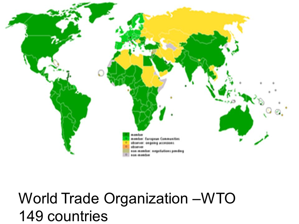 World Trade Organization –WTO