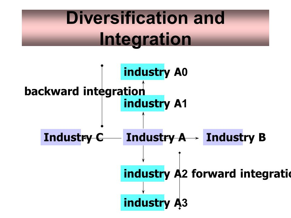 Diversification and Integration