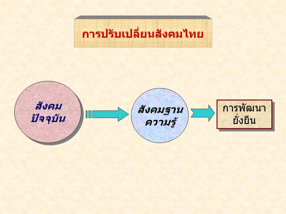การปรับเปลี่ยนสังคมไทย