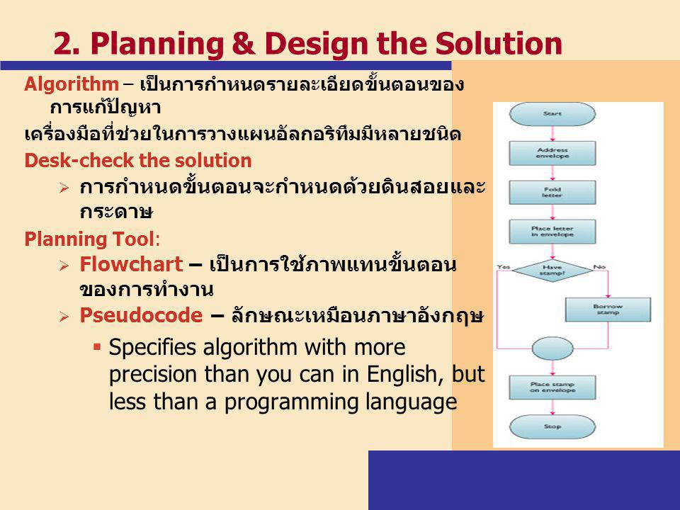 2. Planning & Design the Solution