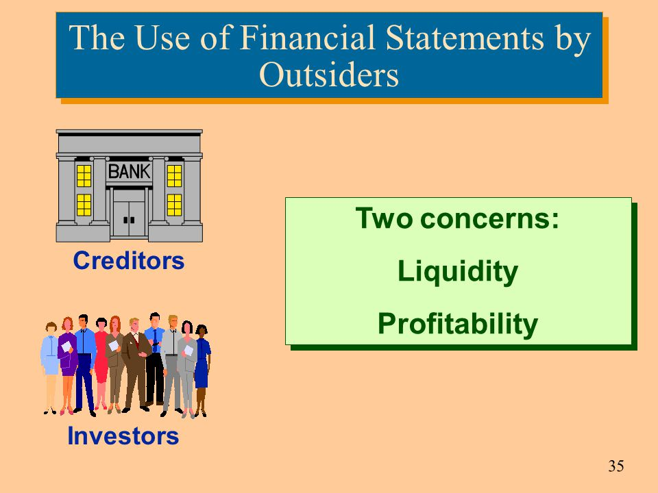 The Use of Financial Statements by Outsiders