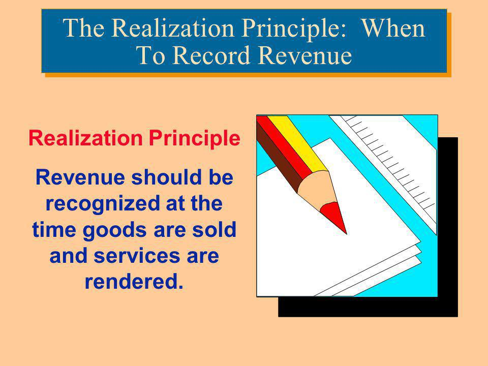 The Realization Principle: When To Record Revenue