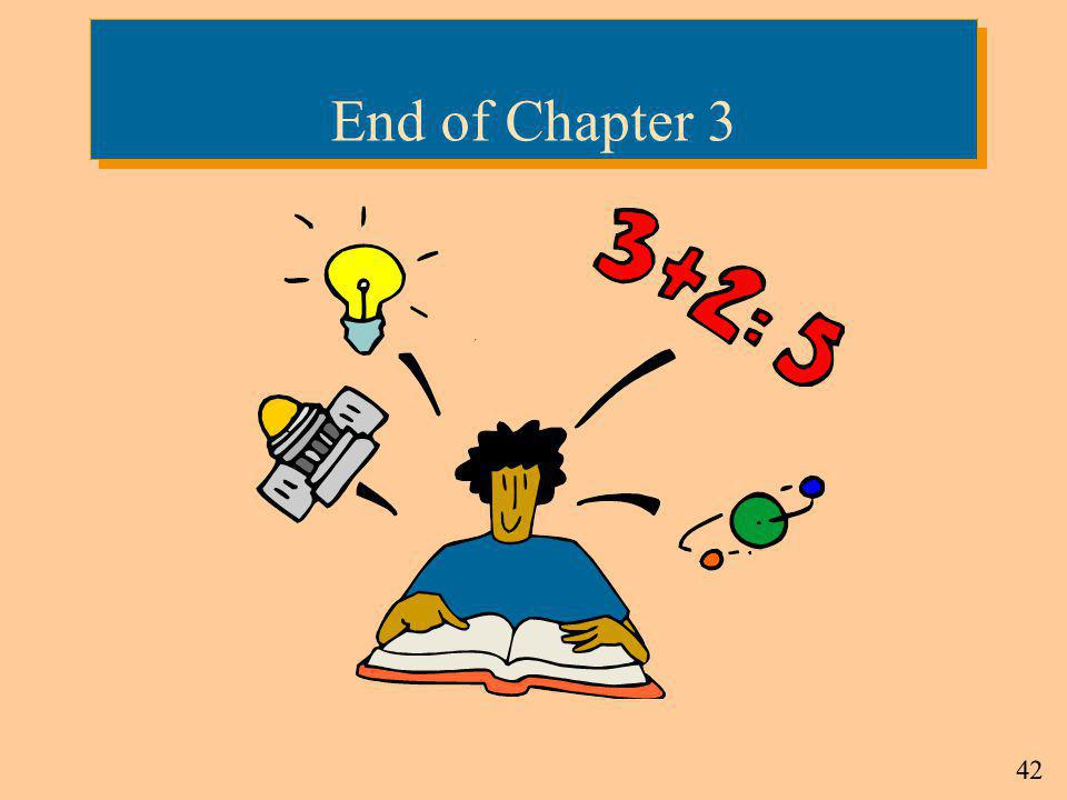 End of Chapter 3 4