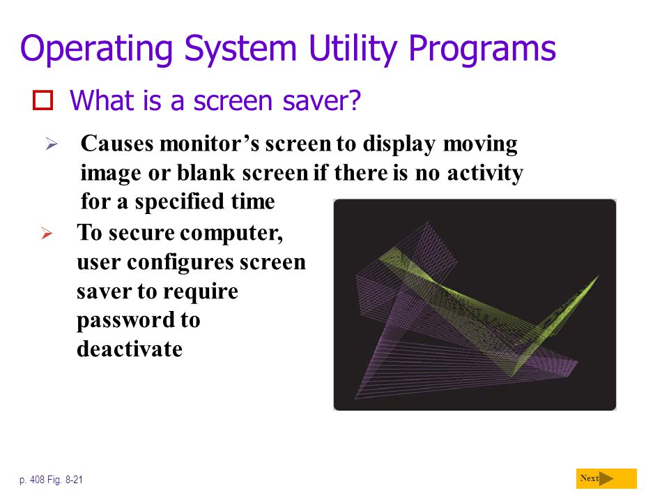 Operating System Utility Programs