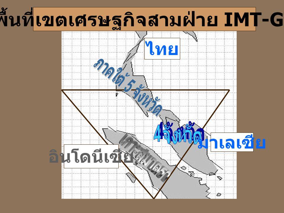 พื้นที่เขตเศรษฐกิจสามฝ่าย IMT-GT