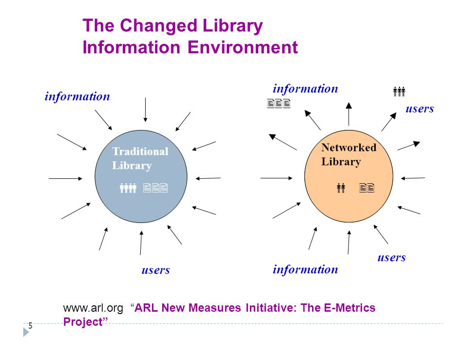 The Changed Library Information Environment