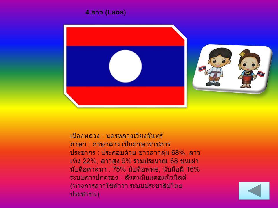 4.ลาว (Laos)