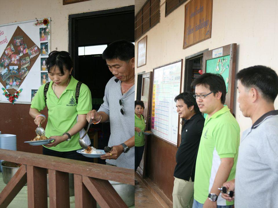 โรงเรียนที่ไปให้การสนับสนุน