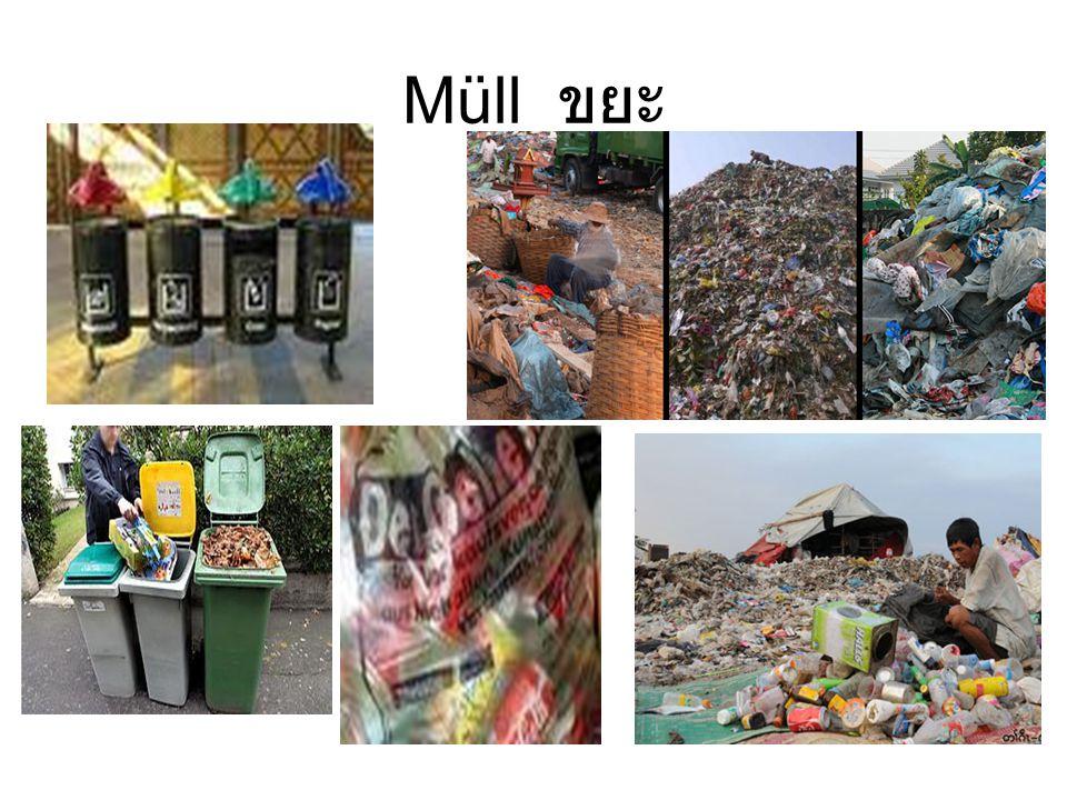 Müll ขยะ