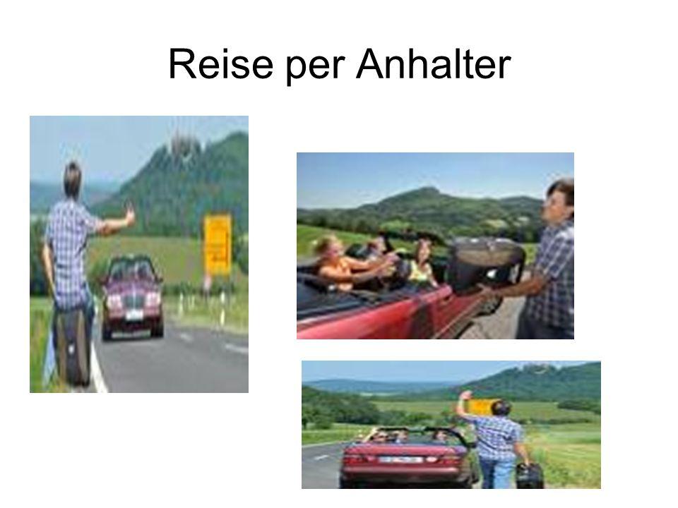 Reise per Anhalter