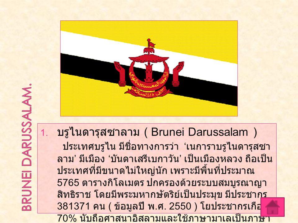 BRUNEI DARUSSALAM. บรูไนดารุสซาลาม ( Brunei Darussalam )