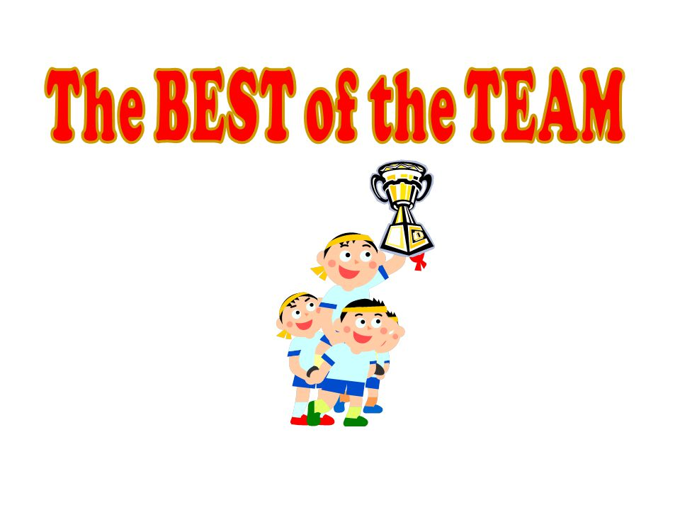 The BEST of the TEAM