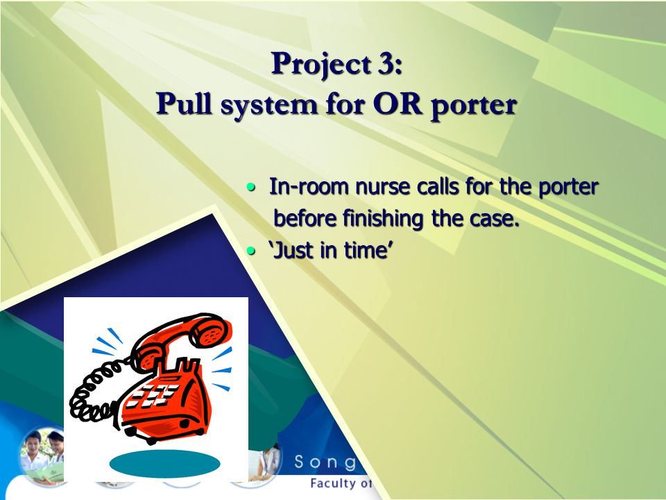 Project 3: Pull system for OR porter