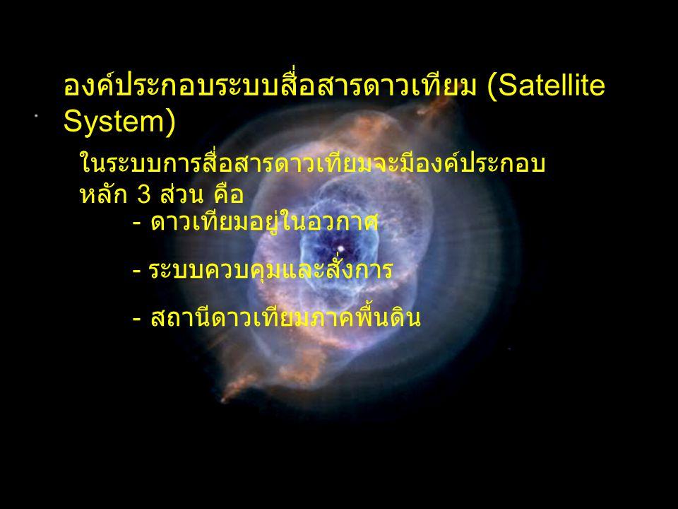 องค์ประกอบระบบสื่อสารดาวเทียม (Satellite System)