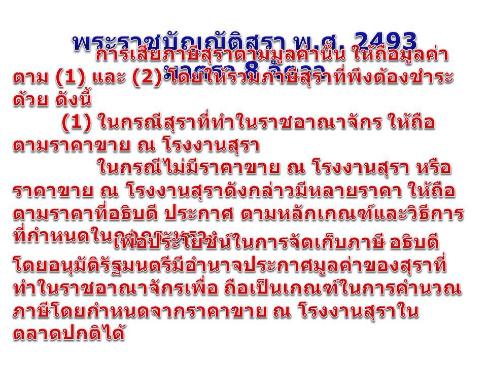 พระราชบัญญัติสุรา พ.ศ. 2493 มาตรา 8 จัตวา