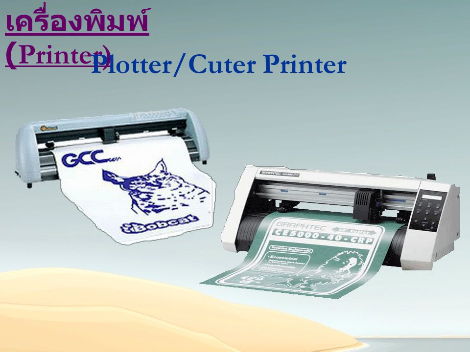 Plotter/Cuter Printer