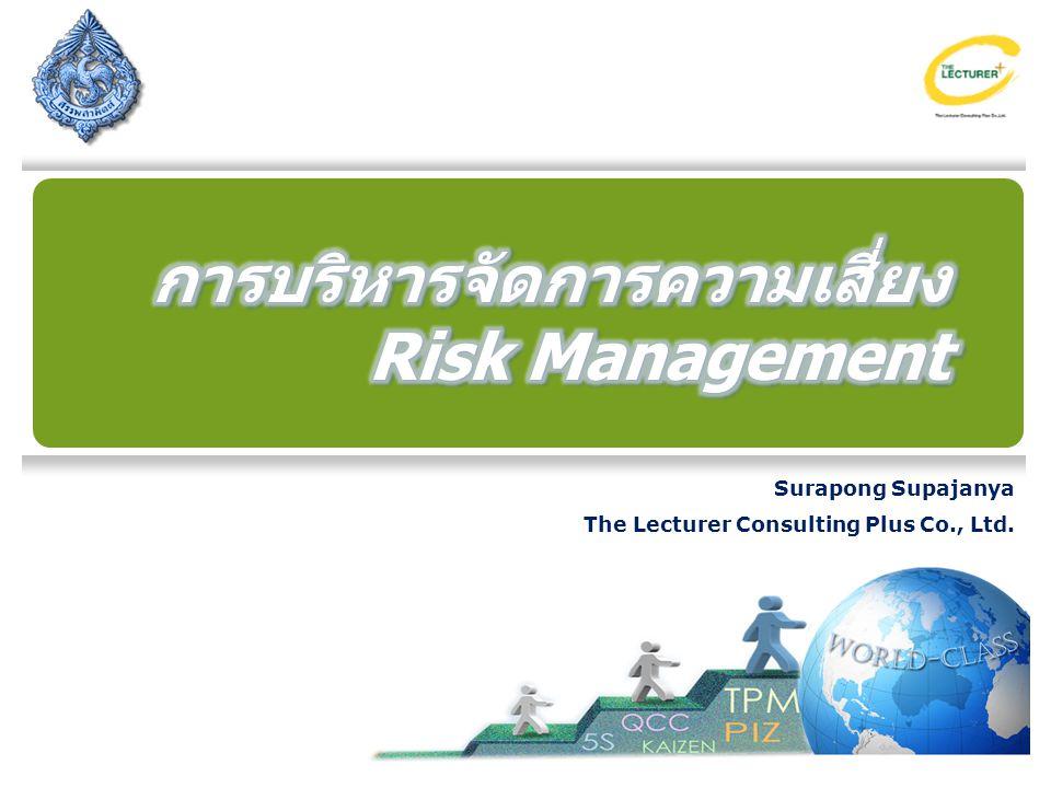การบริหารจัดการความเสี่ยง Risk Management