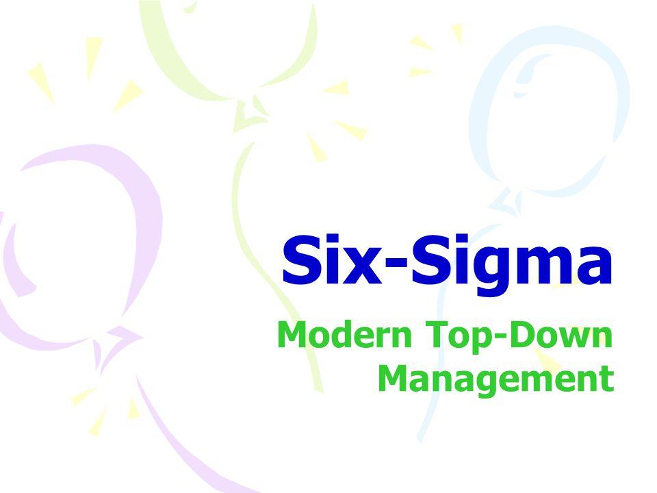Modern Top-Down Management