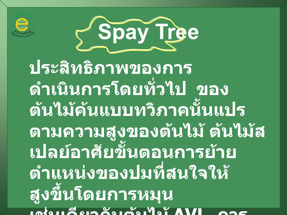 Spay Tree