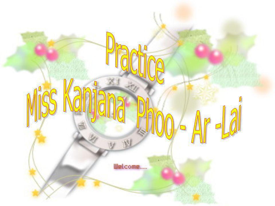 Miss Kanjana Phoo - Ar -Lai