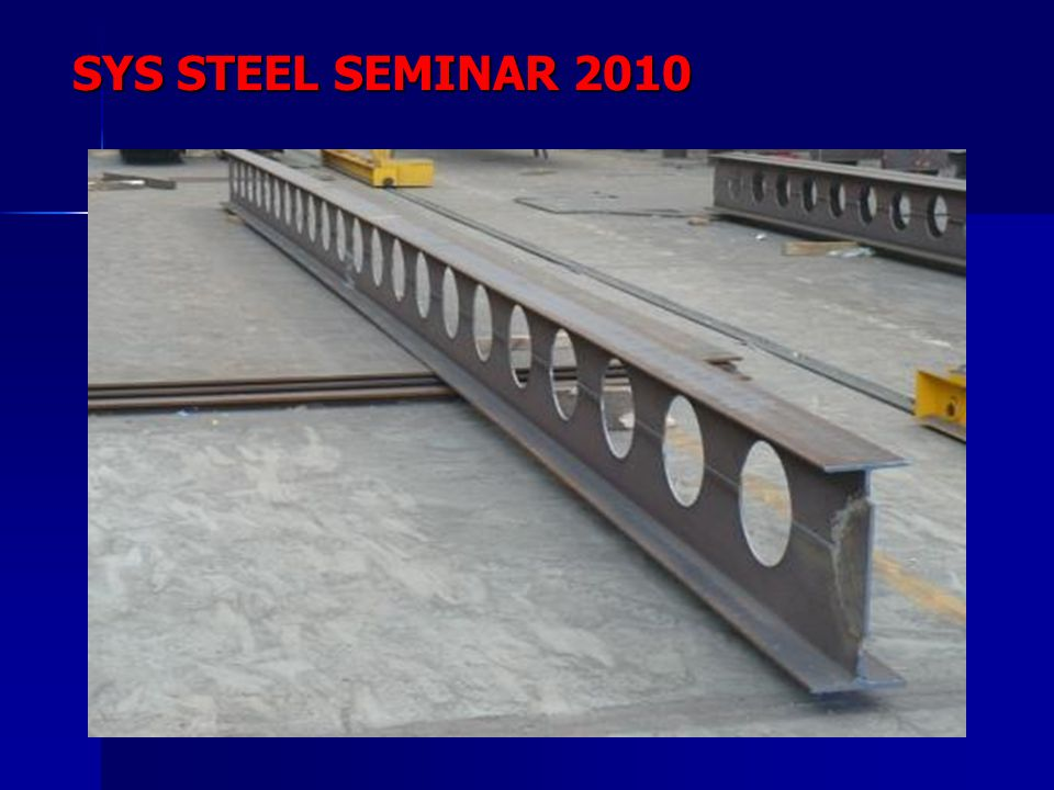 SYS STEEL SEMINAR 2010
