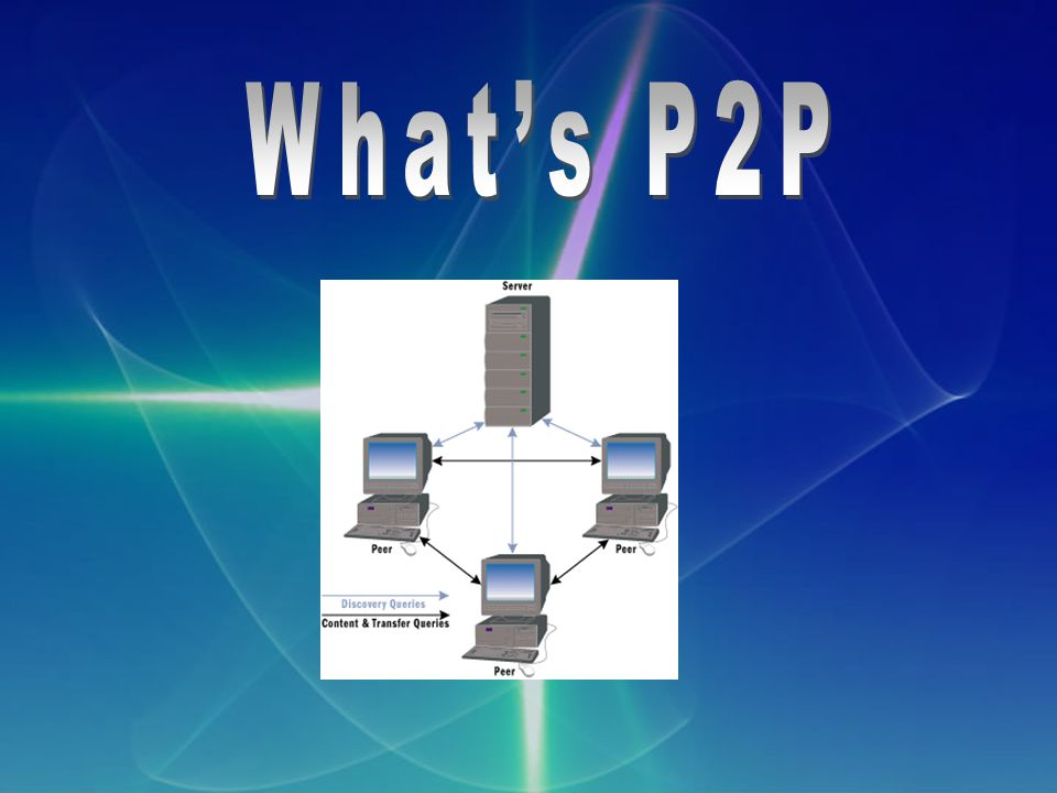 What's P2P