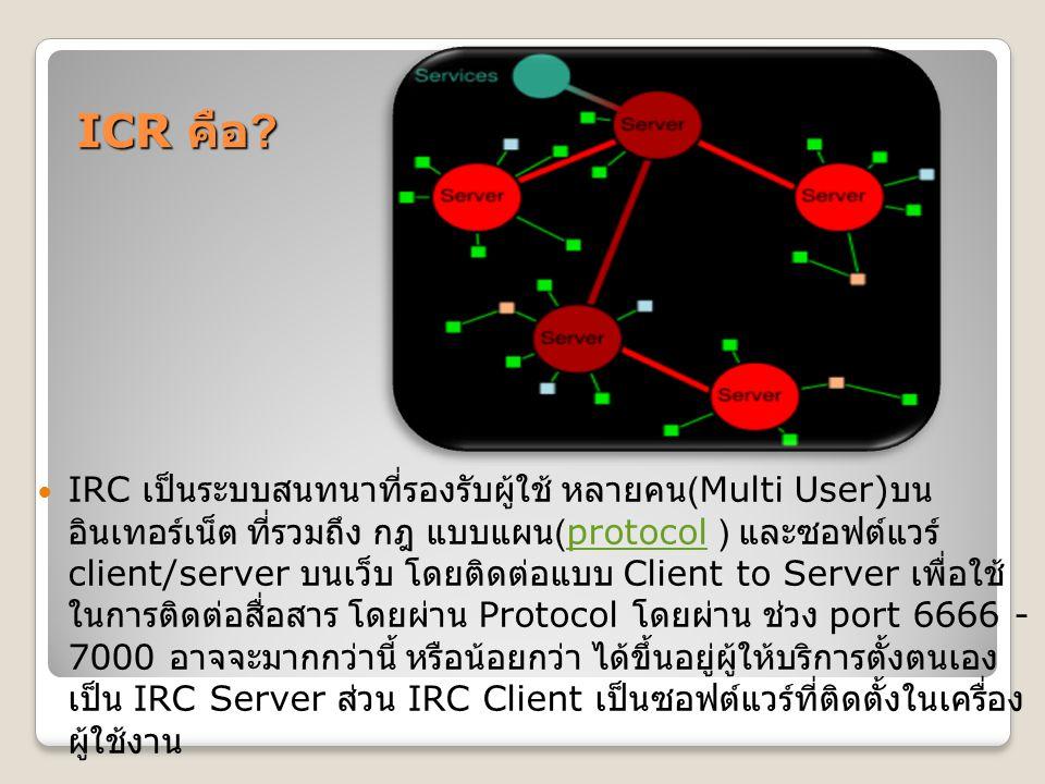 ICR คือ