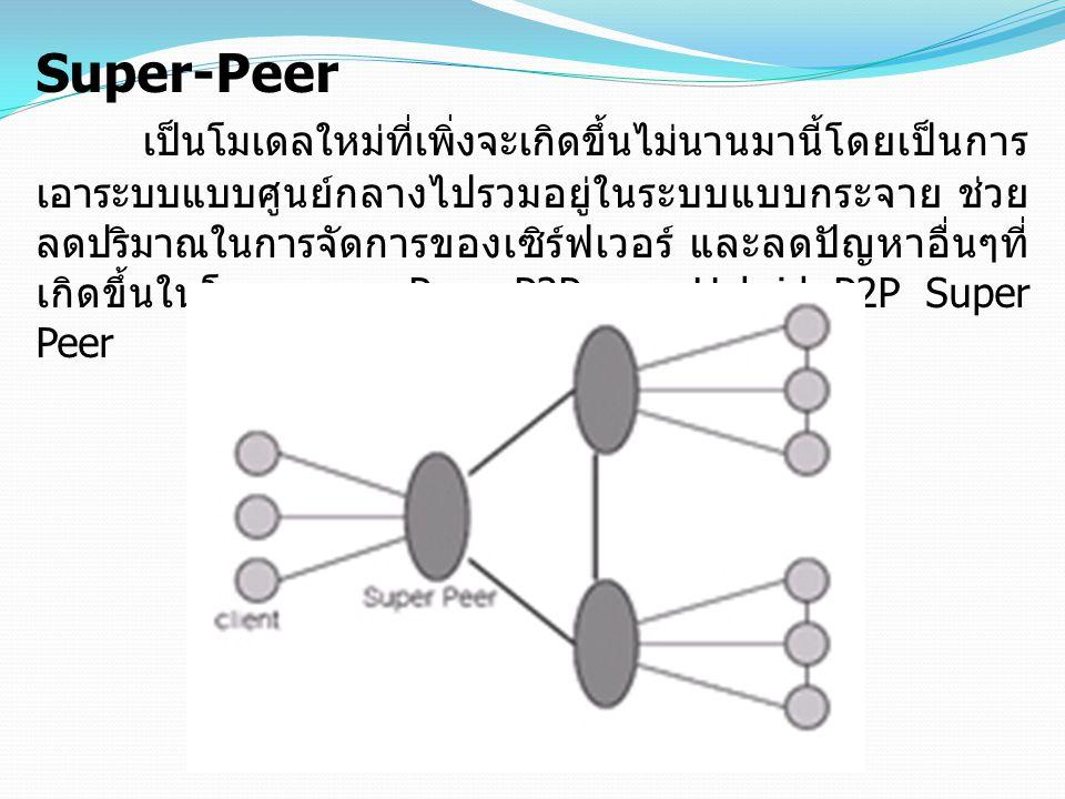 Super-Peer