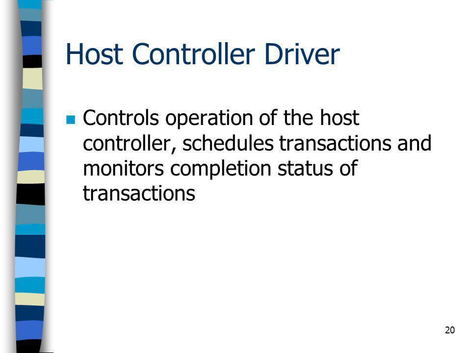 Host Controller Driver