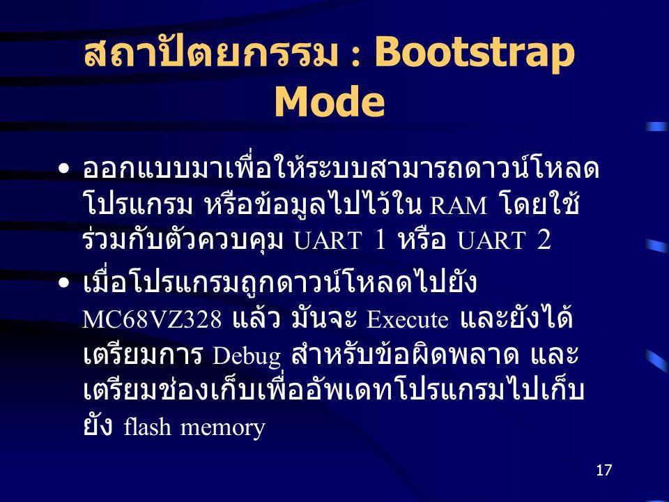 สถาปัตยกรรม : Bootstrap Mode
