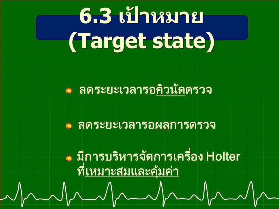 6.3 เป้าหมาย (Target state)