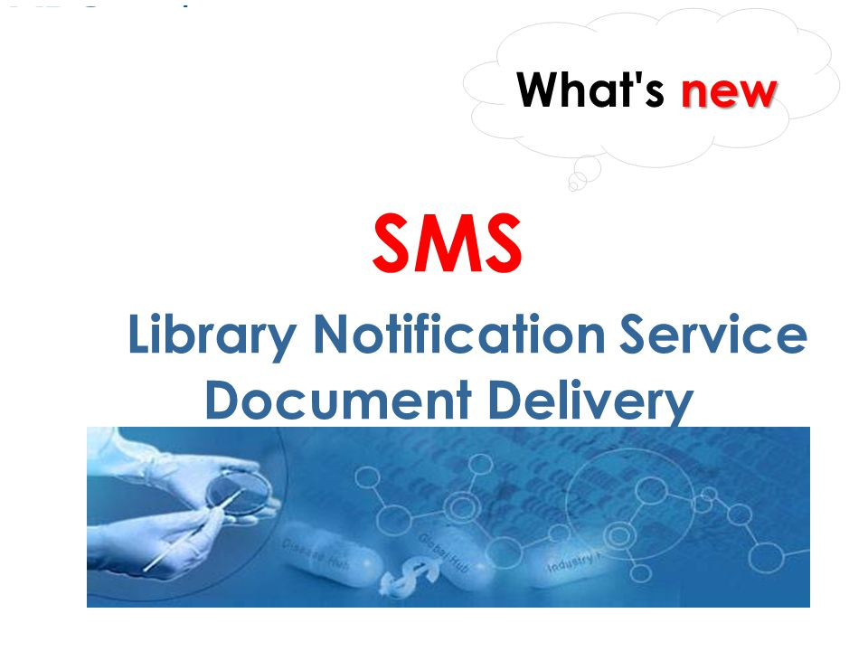 SMS Library Notification Service