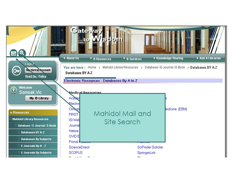 Mahidol Mail and Site Search Mail & Site Search