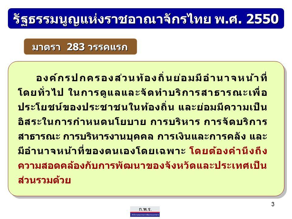 รัฐธรรมนูญแห่งราชอาณาจักรไทย พ.ศ. 2550