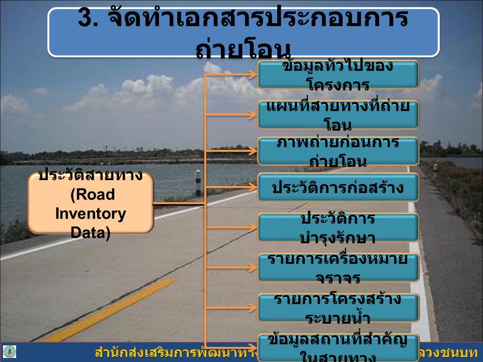 3. จัดทำเอกสารประกอบการถ่ายโอน