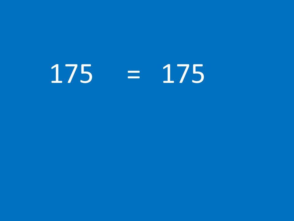 175 = 175